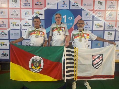 Atletas da Sogipa são destaque no Campeonato Brasileiro de Tênis de Mesa!