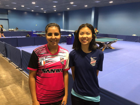 Lívia Lima e Daniela Yano participam de seletiva para o Campeonato Pan-Americano