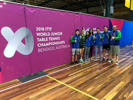 Atleta e técnico da Sogipa retornam de Mundial Juvenil de Tênis de Mesa