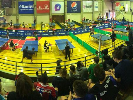 Terceira etapa do Campeonato Estadual conta com a participação de 125 mesatenistas