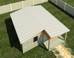 4 Room Option (Metal Roof)