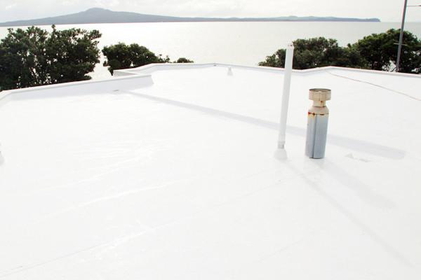 White TPO roof