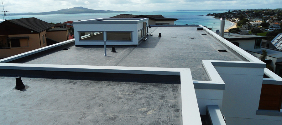 Membrane flat roof