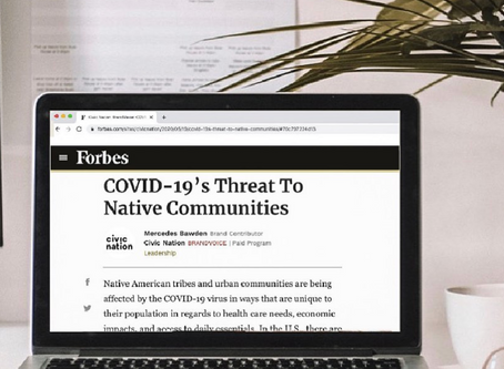 COVID-19's Threat To Native Communities