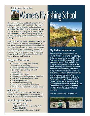 Women's Fly Fishing School MT