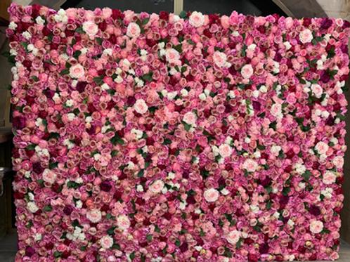 Mur roses