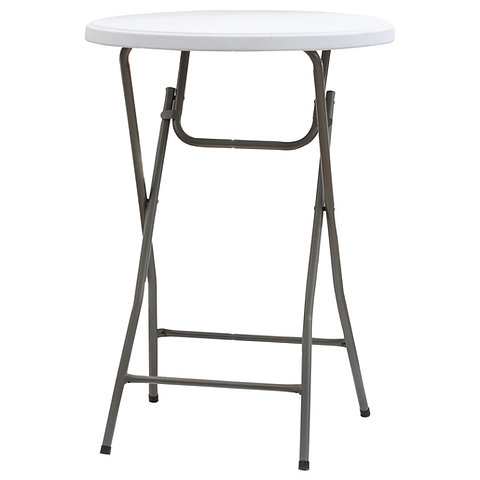 80 pliante Table deboutDiamètre mange ronde cm 3Lq45jAR