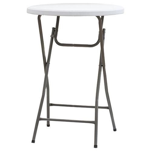 Table pliante ronde mange debout, Diamètre 80 cm