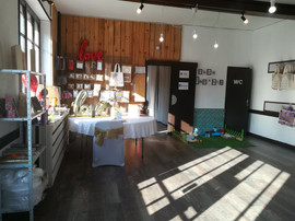 Showroom matériel et déco événementiel