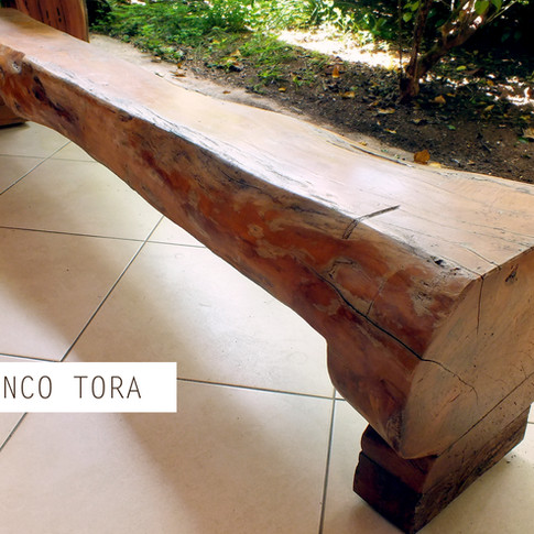 Banco Tora - Madeira Orgânica