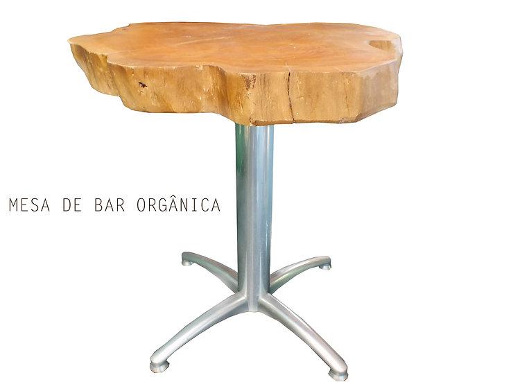 Mesa de bar Orgânica