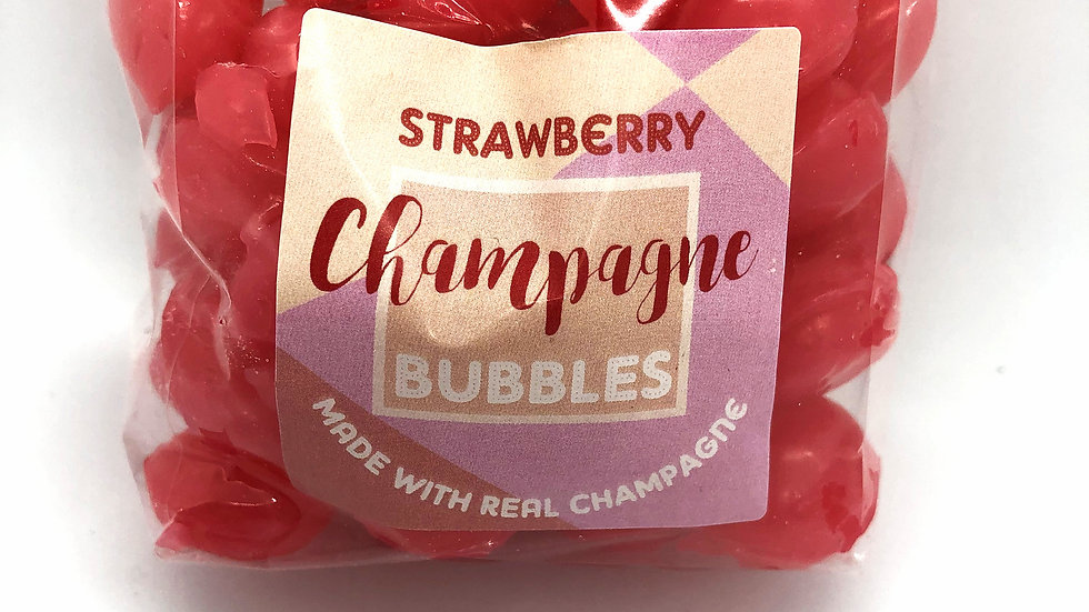 Holly's Lollies Strawberry Champagne Bubbles