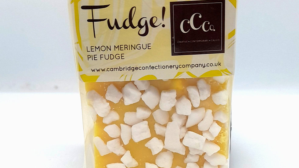 Cambridge Confectionary Lemon Meringue Pie Fudge Bar 200g