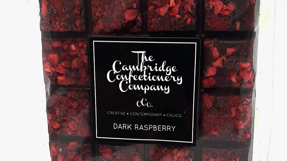 Cambridge Confectionary Dark Raspberry Chocolate Bar
