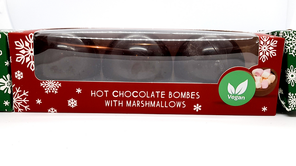 Cocoba Hot Chocolate Bombs with Marshmallows - 3 Pack