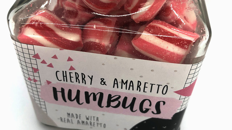 Holly's Lollies Cherry & Amaretto Humbugs