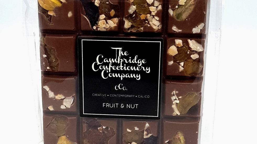 Cambridge Confectionary Fruit & Nut Chocolate Bar