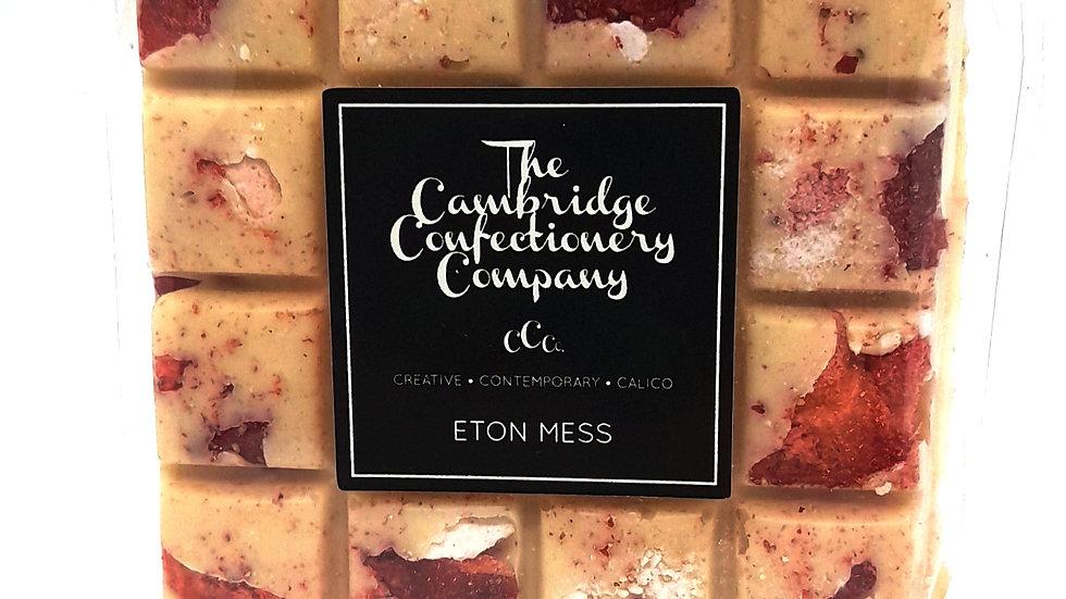 Cambridge Confectionary Eton Mess Chocolate Bar