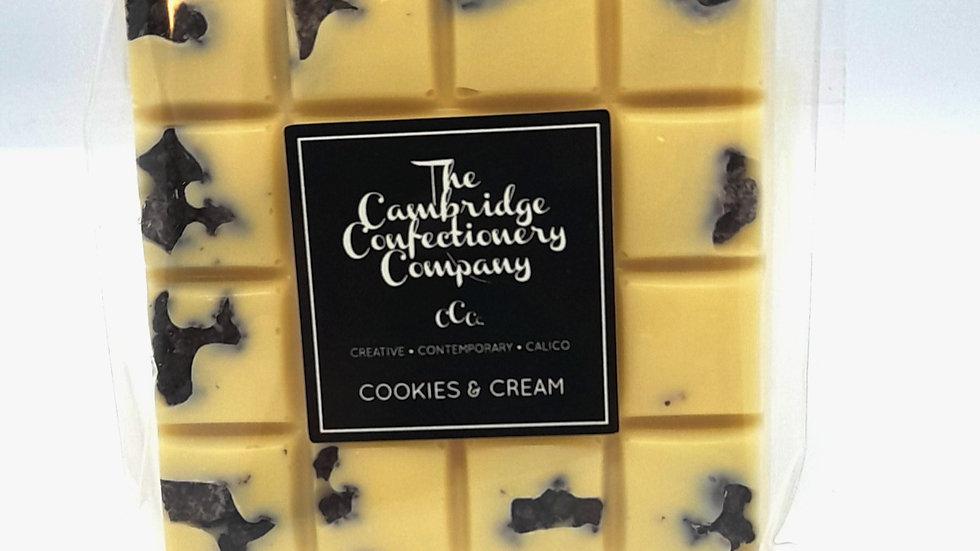 Cambridge Confectionary Cookies & Cream Chocolate Bar
