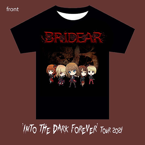 BRIDEAR - Into the Dark Forever tour shirt