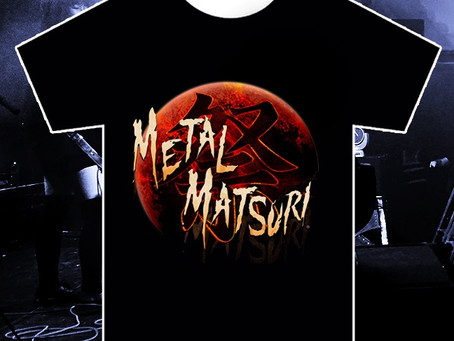 Orion Live celebrates the anniversary of METAL MATSURI with limited edition anniversary T-shirt.