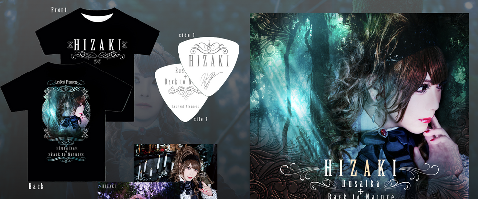 """HIZAKI """"Rusalka + Back to Nature"""" 'Les Cent Premiers' Edition - pre-order August 13!"""