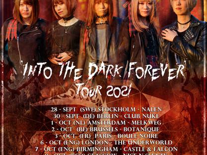 BRIDEAR announce UK/EU tour