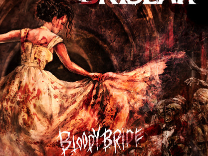 """BRIDEAR unleash new single! Pre-order for """"Bloody Bride"""" and """"Expose Your Emotions"""" now available."""