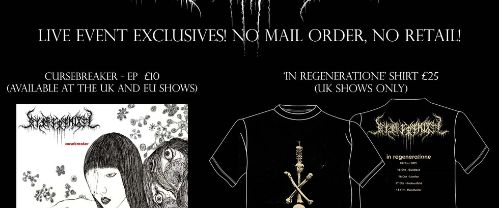Setsuzoku Records teams with NECRONOMIDOL for tour exclusive EP and UK exclusive shirt!