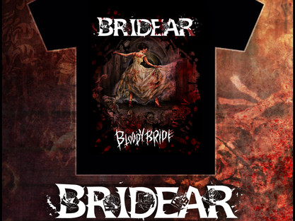 New BRIDEAR merch available for pre-order!