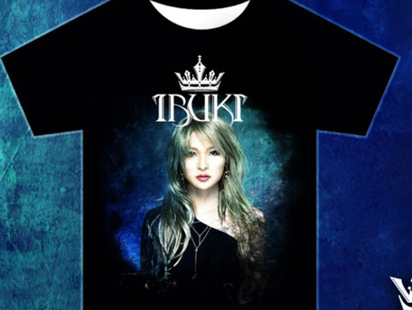 New IBUKI ExMyself t-shirt available for pre-order
