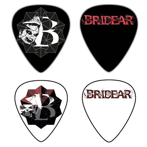 BRIDEAR guitar picks, set of 2