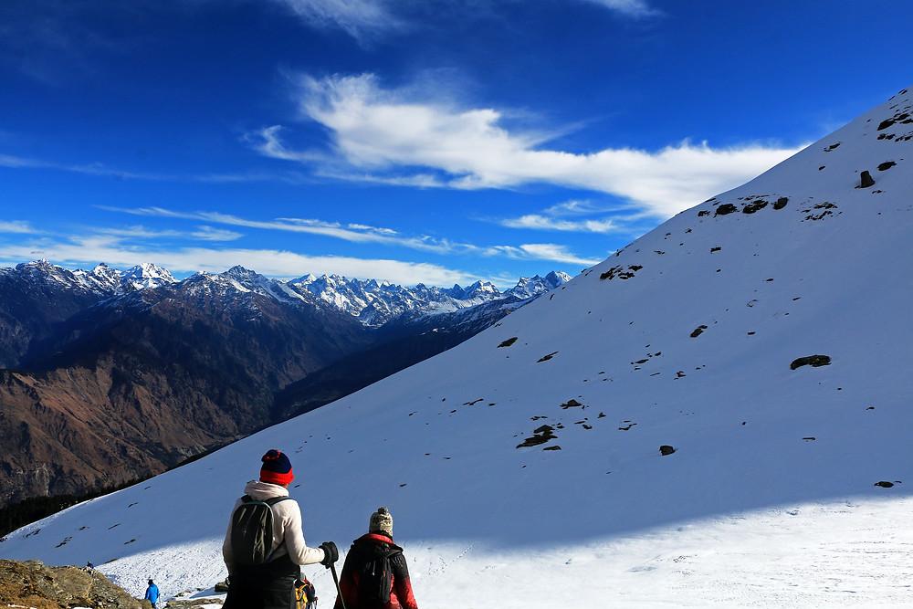 view of Kedarkantha trek