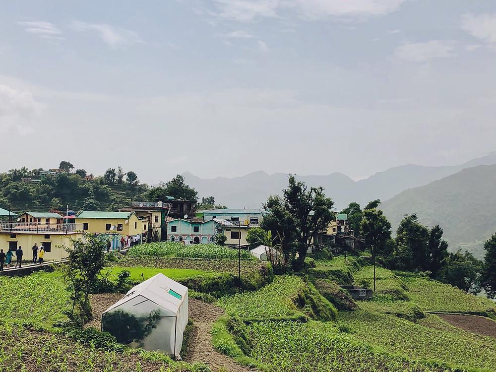 A view of Sainji Village