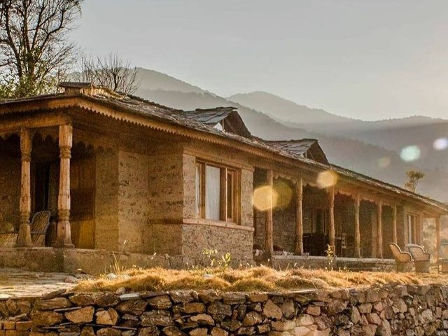 houses of Goat Village