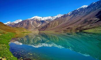 view of valley around chattrakund lake