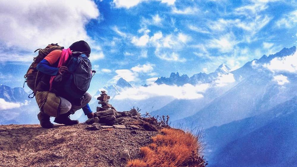 Top of Kuari Pass trek