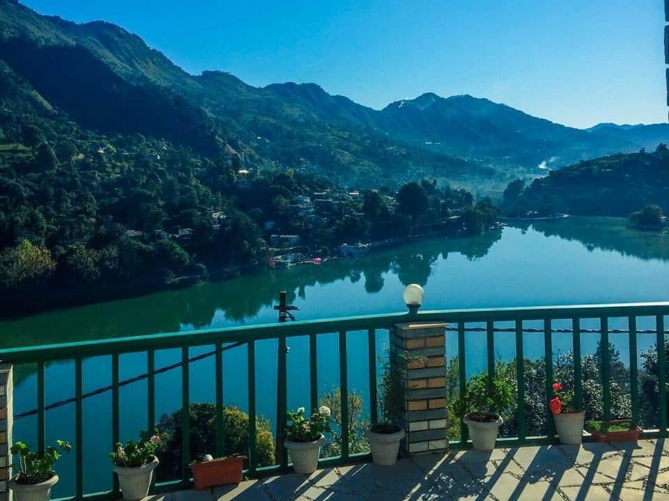 Homestay in nainital with a lake view