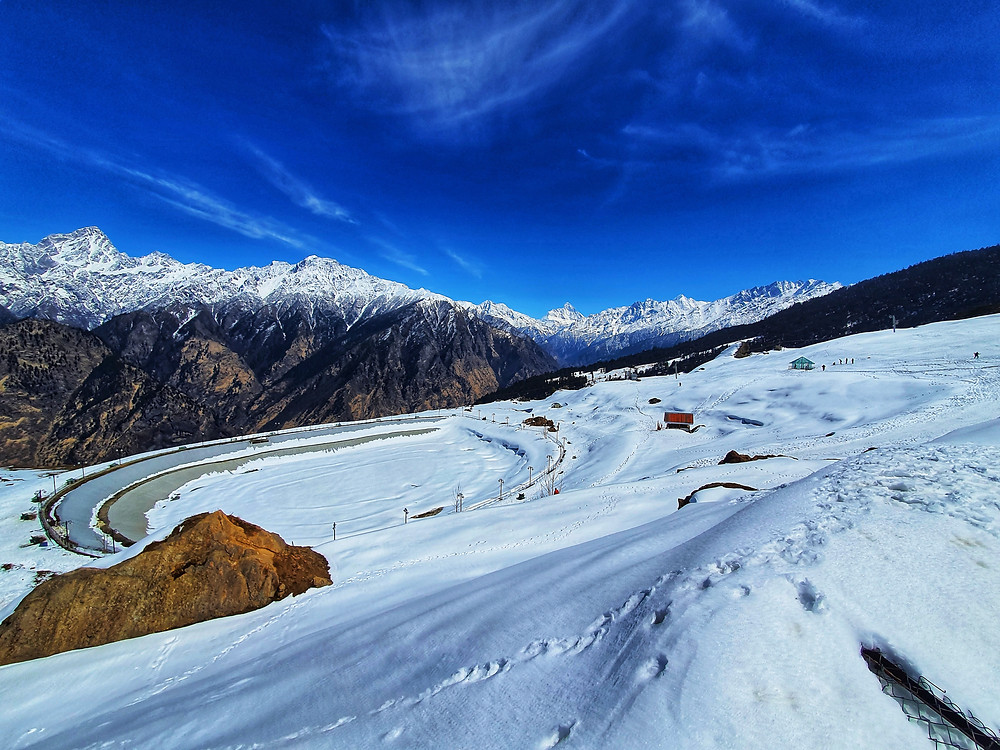 View of Auli