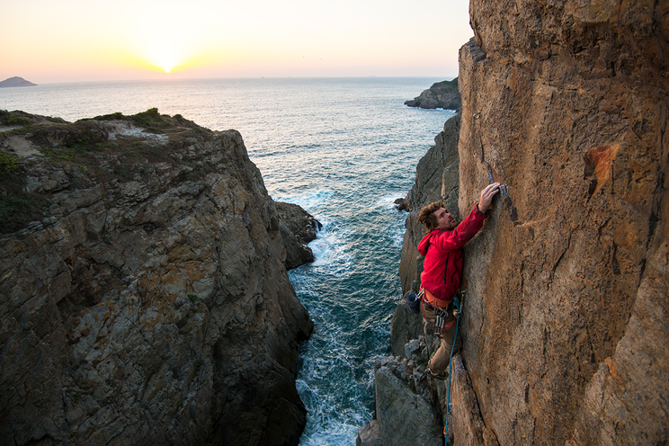 End of the World (6b+)
