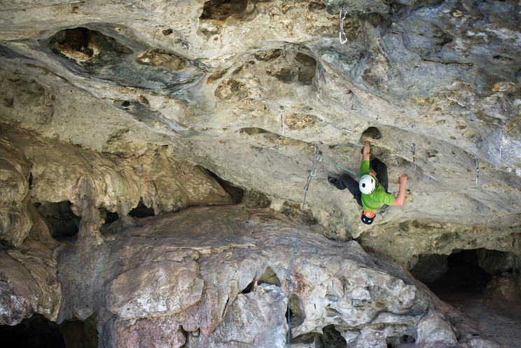 Small World Roof (7c)