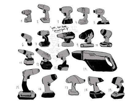 Drill designs