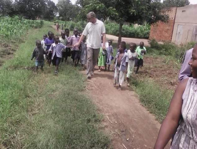 November 2015. The first trip to Uganda.