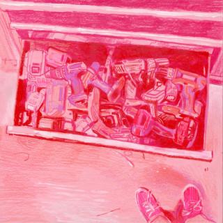 Drill drawer