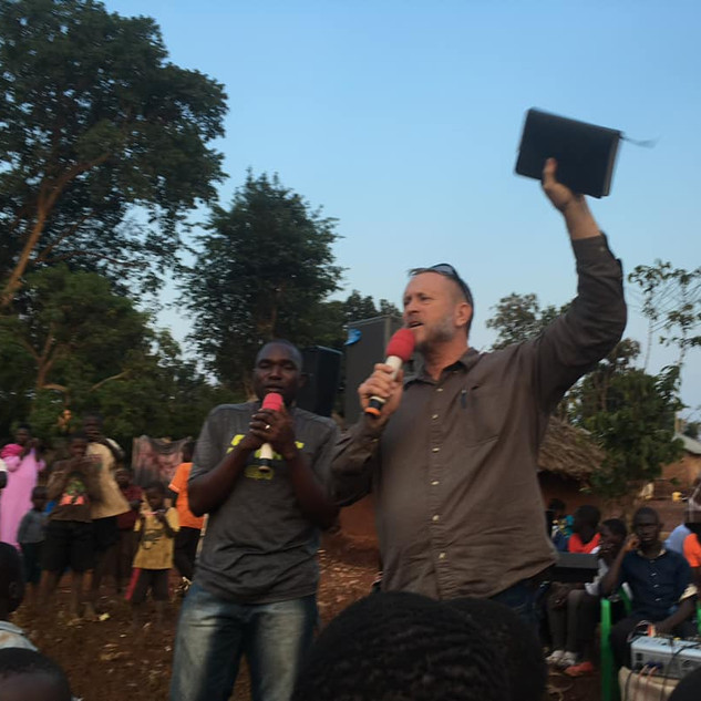 Jay Cox Preaching the Gospel in Uganda.j