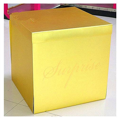 Surprise Box 50*50*50cm Gold