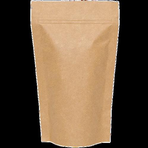 Ziplock Kraft (stand up) 16cm x 24cm