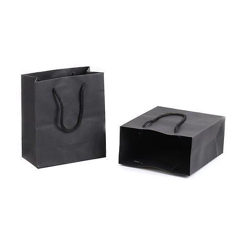Paper Bag Black Kraft