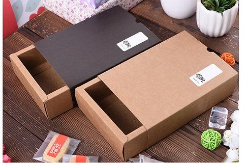 Die-cut drawer box