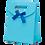 Thumbnail: Premium Gift Bag, Blue (small)